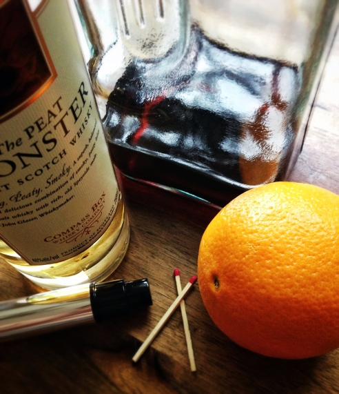 Charcoal Boulevardier 2