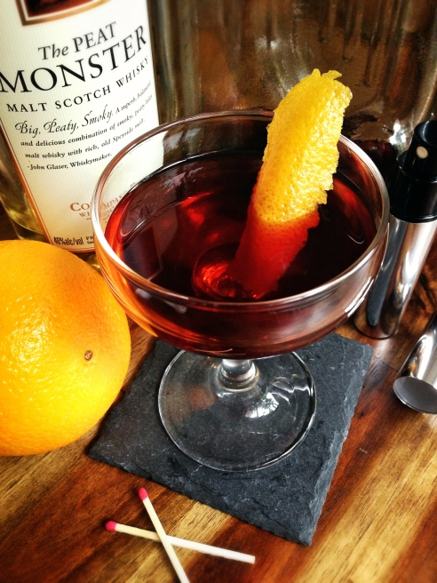 Charcoal Boulevardier 5