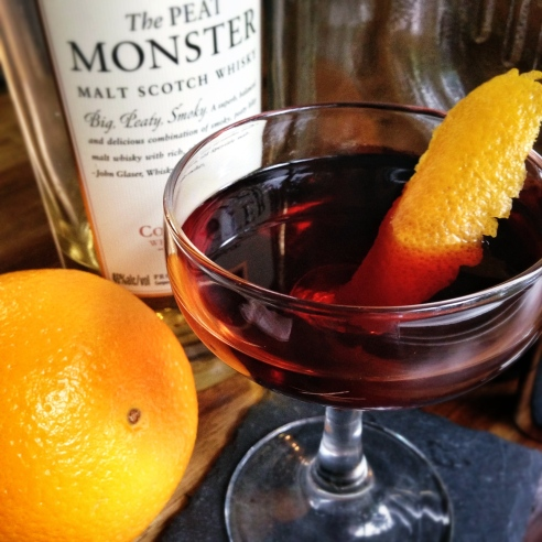Charcoal Boulevardier 6