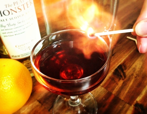 Charcoal Boulevardier