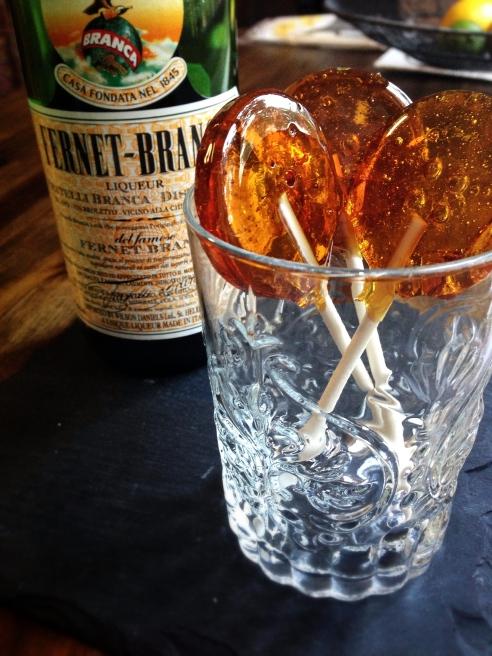 Fernet Lollipops : Liqueurs : DrinkWire
