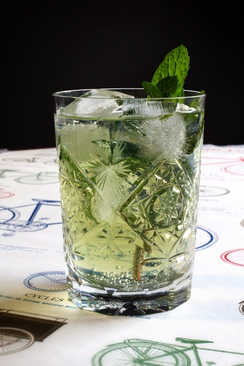 Chartreuse and Tonic 2