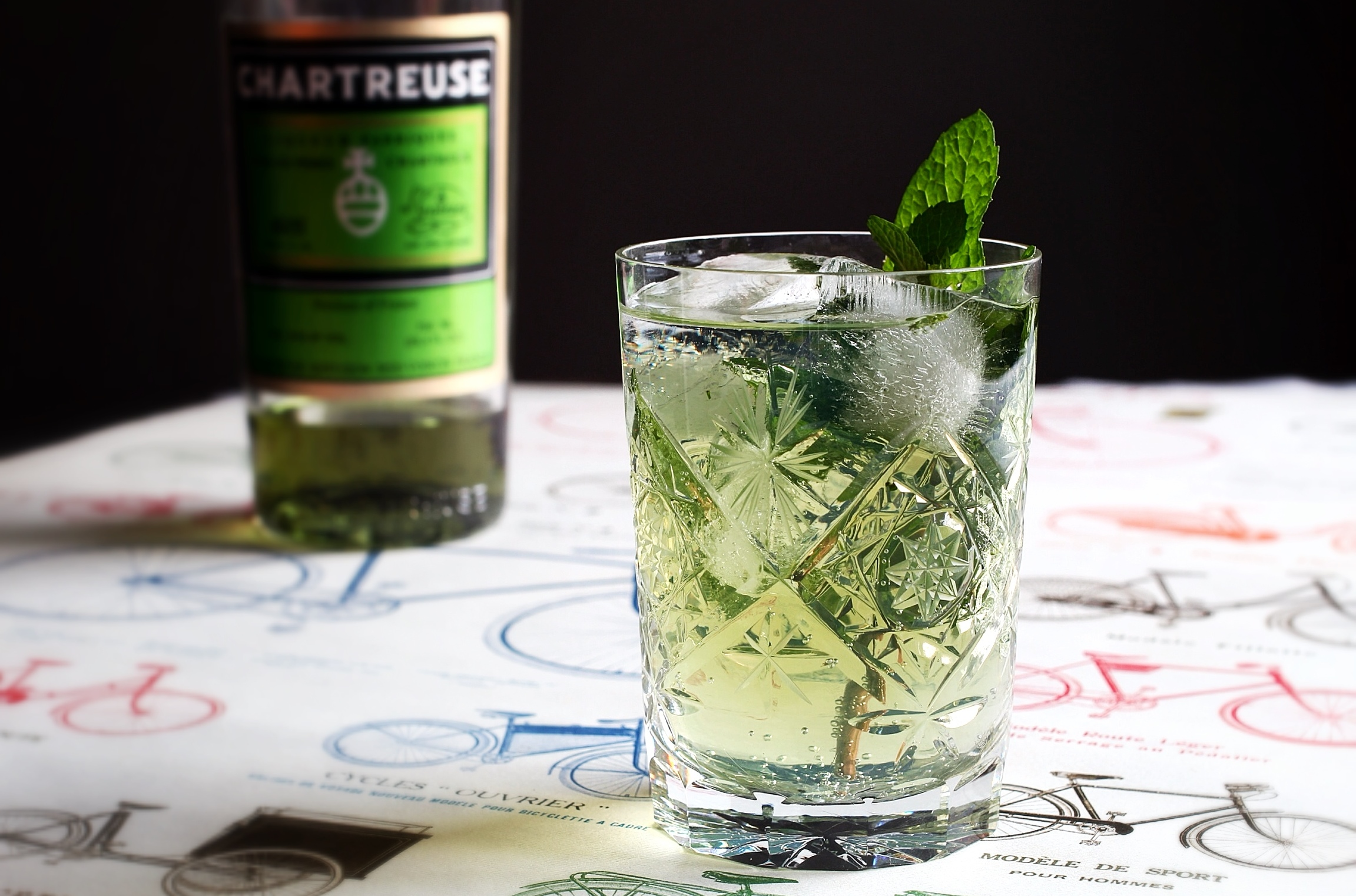 chartreuse and tonic the straight up