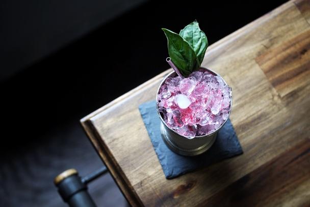 basil-cranberry-julep